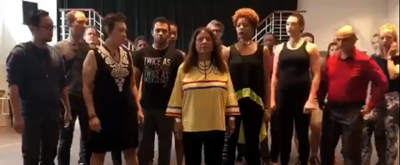 VIDEO: The Cast Of ANYTHING GOES At Arena Stage Honors indigenous People