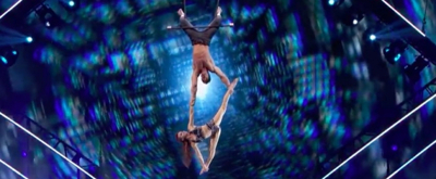 VIDEO: Watch Trapeze Duo Retry Dangerous Blindfold Trick on AMERICA'S GOT TALENT