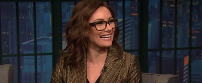 VIDEO: Tony Winner Laura Benanti Talks NYC Parenthood & Playing Melania Trump on LATE NIGHT WITH SETH MEYERS