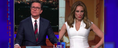 VIDEO: Laura Benanti's 'Melania Trump' Speaks Out About the Stormy Daniels Lawsuit