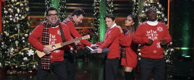 VIDEO: Jimmy Fallon Reunites with SNL Castmates to Perform 'I Wish It Was Christmas Today' with Ariana Grande