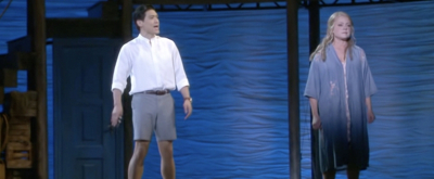 Exclusive: Kendra Kassebaum and Paolo Montalban Perform SOS in 5th Avenue's MAMMA MIA!