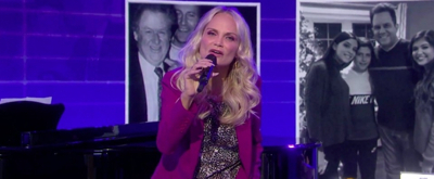 VIDEO: Kristin Chenoweth Performs 'Give It Away' Written by Kathie Lee Gifford