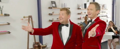 VIDEO: James Corden Sings Telegrams with Neil Patrick Harris on THE LATE LATE SHOW