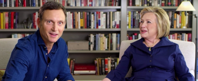 VIDEO: Hillary Clinton and NETWORK's Tony Goldwyn Play 'Broadway or Beltway'