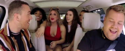 VIDEO: Watch Latest Carpool Karaoke w/ Sam Smith ft. Fifth Harmony!