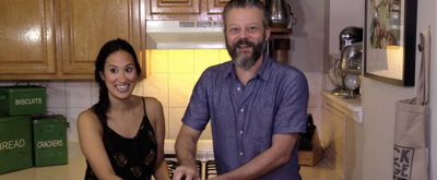 Backstage Bite with Katie Lynch: HEAD OVER HEELS's Jeremy Kushnier Finds The Beet!