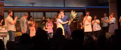 VIDEO: Joey McIntyre Takes His Final Bows In WAITRESS On Broadway