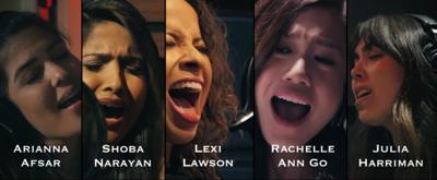 VIDEO: HAMILTON's Elizas Perform the First Draft of 'Burn'