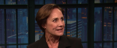 VIDEO: Laurie Metcalf Chats THREE TALL WOMEN, SNL, & More on LATE NIGHT WITH SETH MEYERS