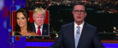 VIDEO: Stephen Colbert Looks Into Trump's State of Affairs...Actual Affairs