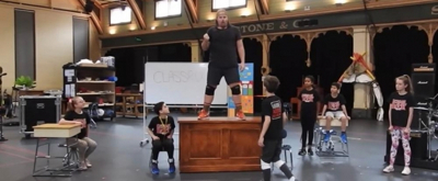 VIDEO: Go Inside Rehearsals Of SCHOOL OF ROCK in Melbourne