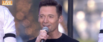 VIDEO: It's Everything You Ever Want! Hugh Jackman Sings THE GREATEST SHOW On TODAY