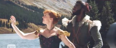 VIDEO: Go Behind-the-Scenes of FROZEN Cast Rocky Mountain Photo Shoot