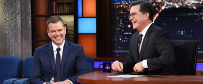 VIDEO: Matt Damon Looks Back at 'Good Will Hunting' on LATE SHOW