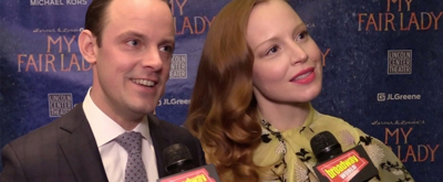 BWW TV: They Did It! Lauren Ambrose, Harry Hadden-Paton and Company Celebrate Opening Night of MY FAIR LADY!