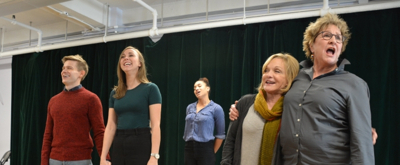 BWW TV: Get Into the Holiday Spirit in Rehearsal with the Cast of KRIS KRINGLE!