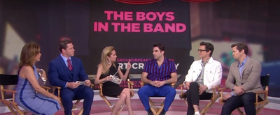 VIDEO: Matt Bomer, Zachary Quinto, & Andrew Rannells Chat THE BOYS IN THE BAND on THE TODAY SHOW