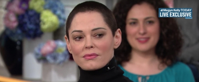 VIDEO: Rose McGowan Reacts to Harvey Weinstein's Arrest on THE TODAY SHOW