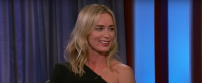 VIDEO: Emily Blunt Tells Jimmy Kimmel About Her Year In London Filming MARY POPPINS RETURNS