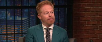 VIDEO: Jesse Tyler Ferguson Chats LOG CABIN Off-Broadway & More on LATE NIGHT WITH SETH MEYERS