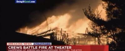 Fire Destroys Historic American Shakespeare Festival Theatre in Stratford, CT