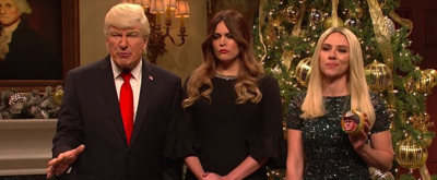 VIDEO: Scarlett Johansson Returns as Ivanka Trump in SNL Tree Trimming Cold Open