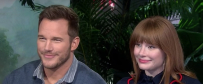 VIDEO: Chris Pratt & Bryce Dallas Howard Talk JURASSIC WORLD: FALLEN KINGDOM On TODAY