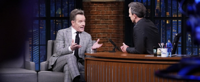 VIDEO: Bryan Cranston Talks Breaking the Fourth Wall in NETWORK
