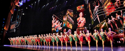 BWW TV: Lights Up on the Bright New Technology at the Radio City Christmas Spectacular!