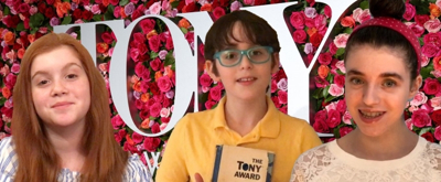 BWW TV: The Kid Critics Weigh In on the 72nd Annual Tony Awards!