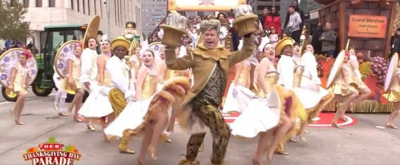 VIDEO: Watch TUTS' BEAUTY AND THE BEAST Perform In Houston's Thanksgiving Day Parade