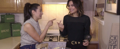 Backstage Bite with Katie Lynch: PRETTY WOMAN's Samantha Barks Whips Up Lady Fingers of the Night!