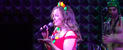 VIDEO: Ring in the Holiday Season With The Skivvies' I TOUCH MY ELF, Featuring Alice Ripley, Wesley Taylor, Sierra Boggess, and More