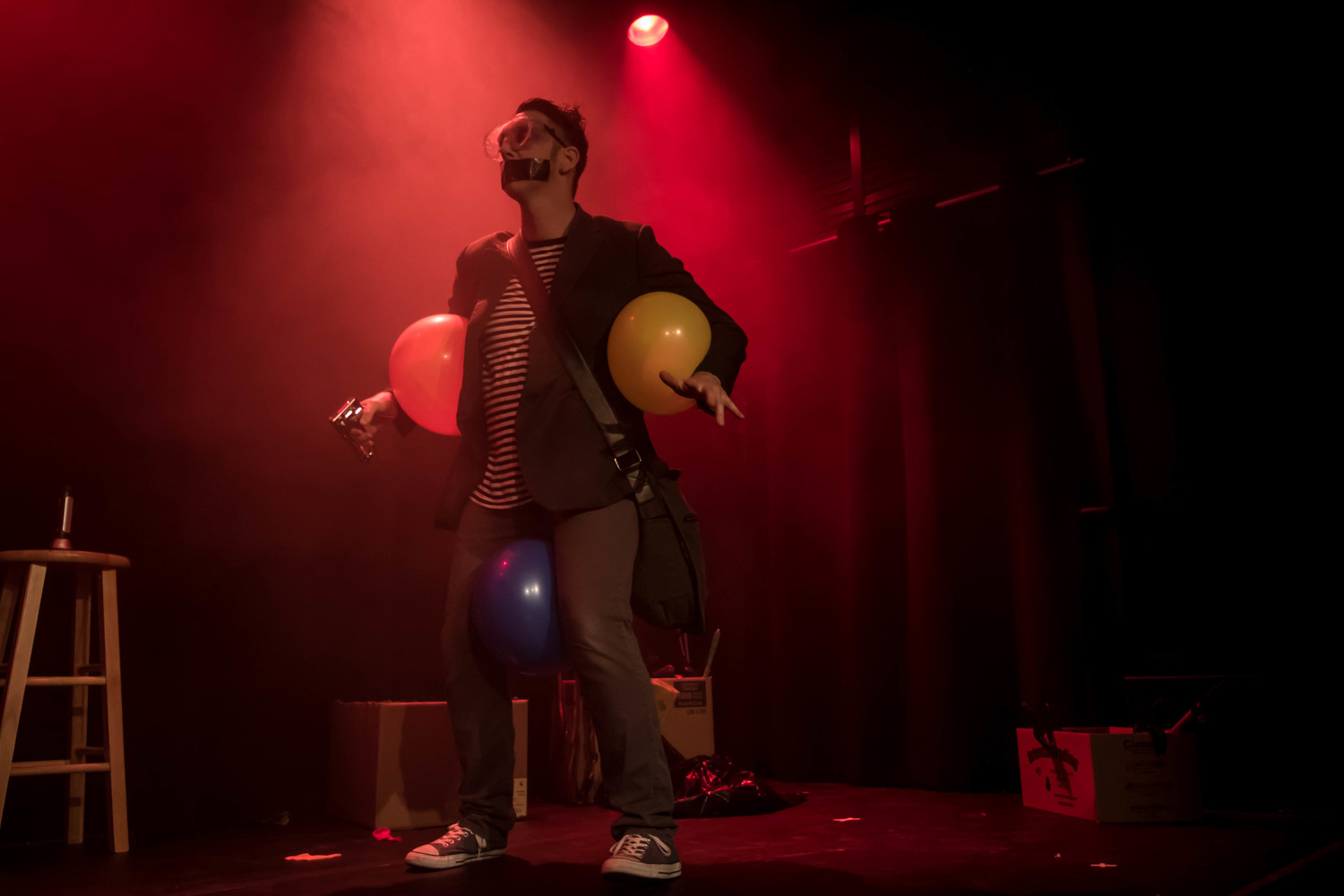 BWW Feature: TAPE FACE at House Of Tape At Harrah's Las Vegas
