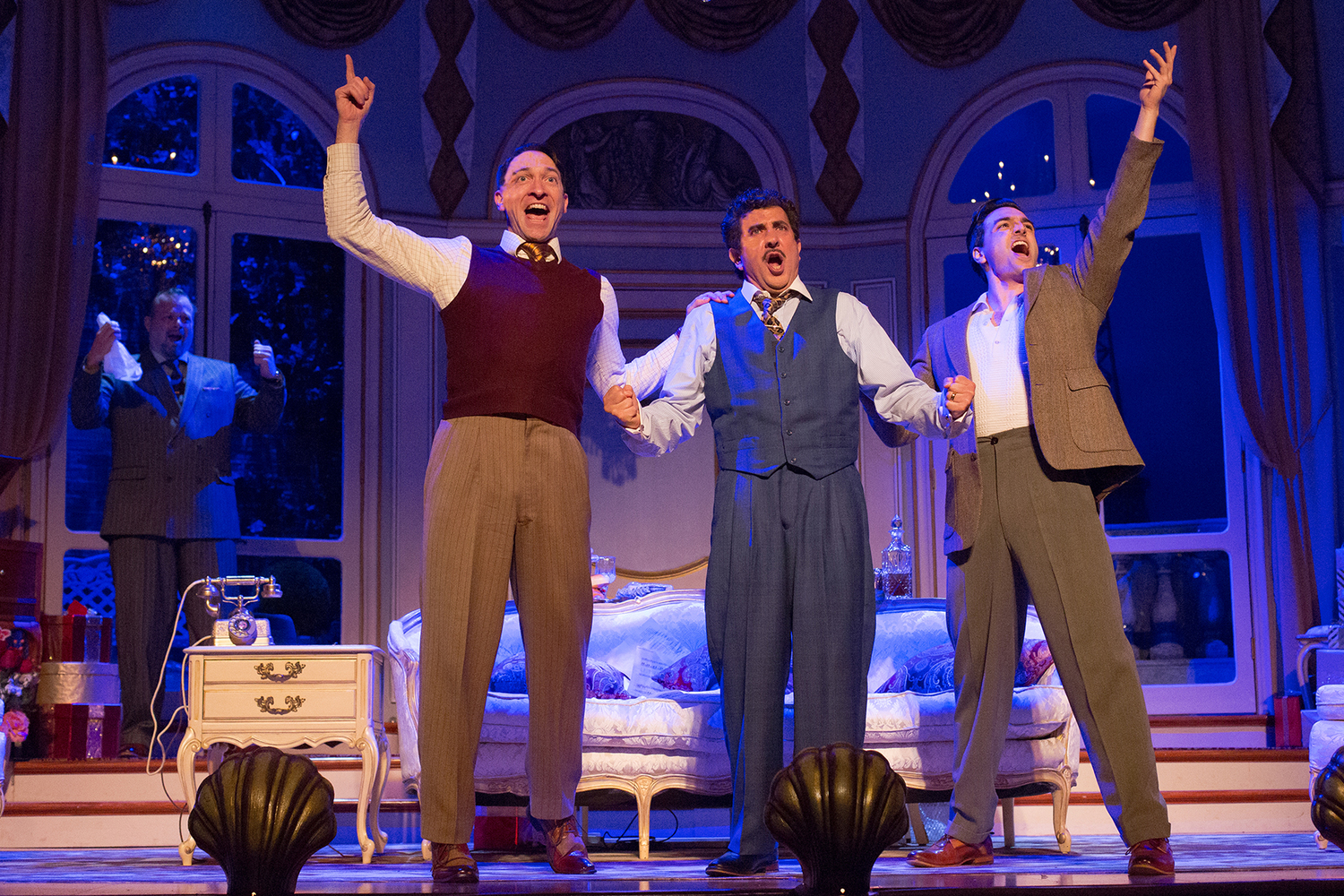 BWW Review: A COMEDY OF TENORS  at Walnut Street Theatre