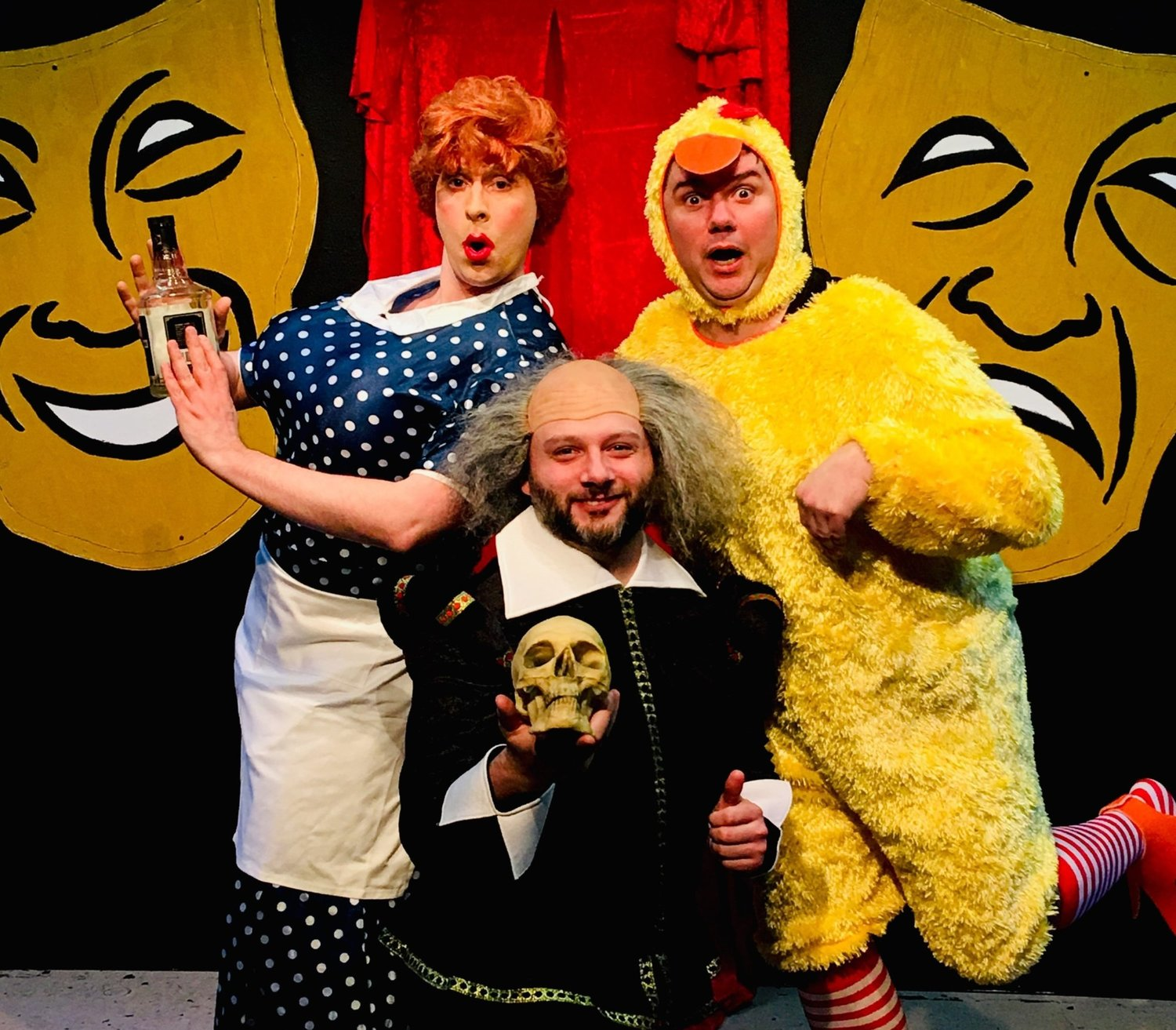 BWW Review: THE COMPLETE HISTORY OF COMEDY (ABRIDGED) at Connecticut Cabaret Theatre