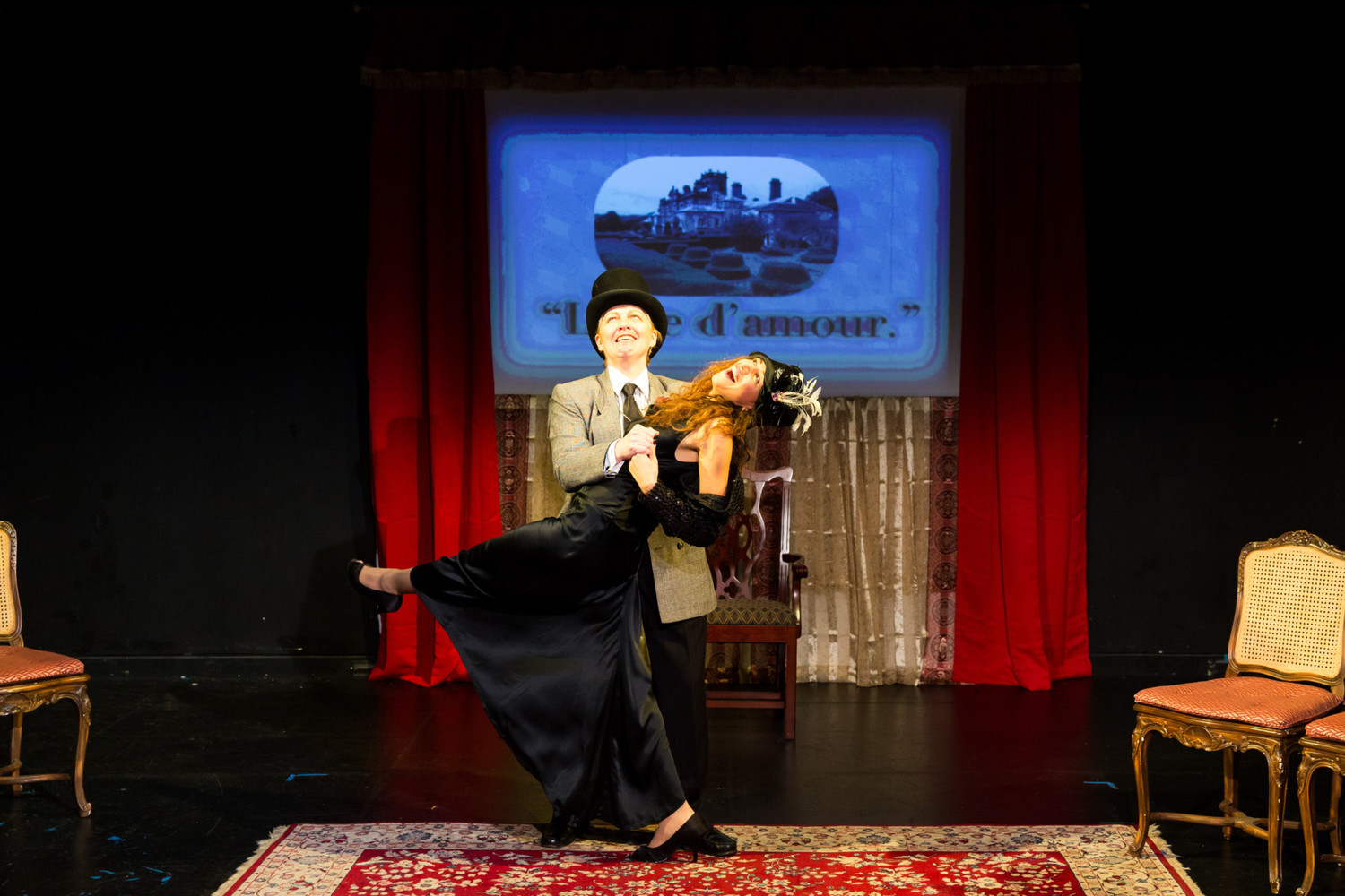 BWW Review: Scena Theatre Puts a Hollywood Spin on Oscar Wilde's WOMAN OF NO IMPORTANCE