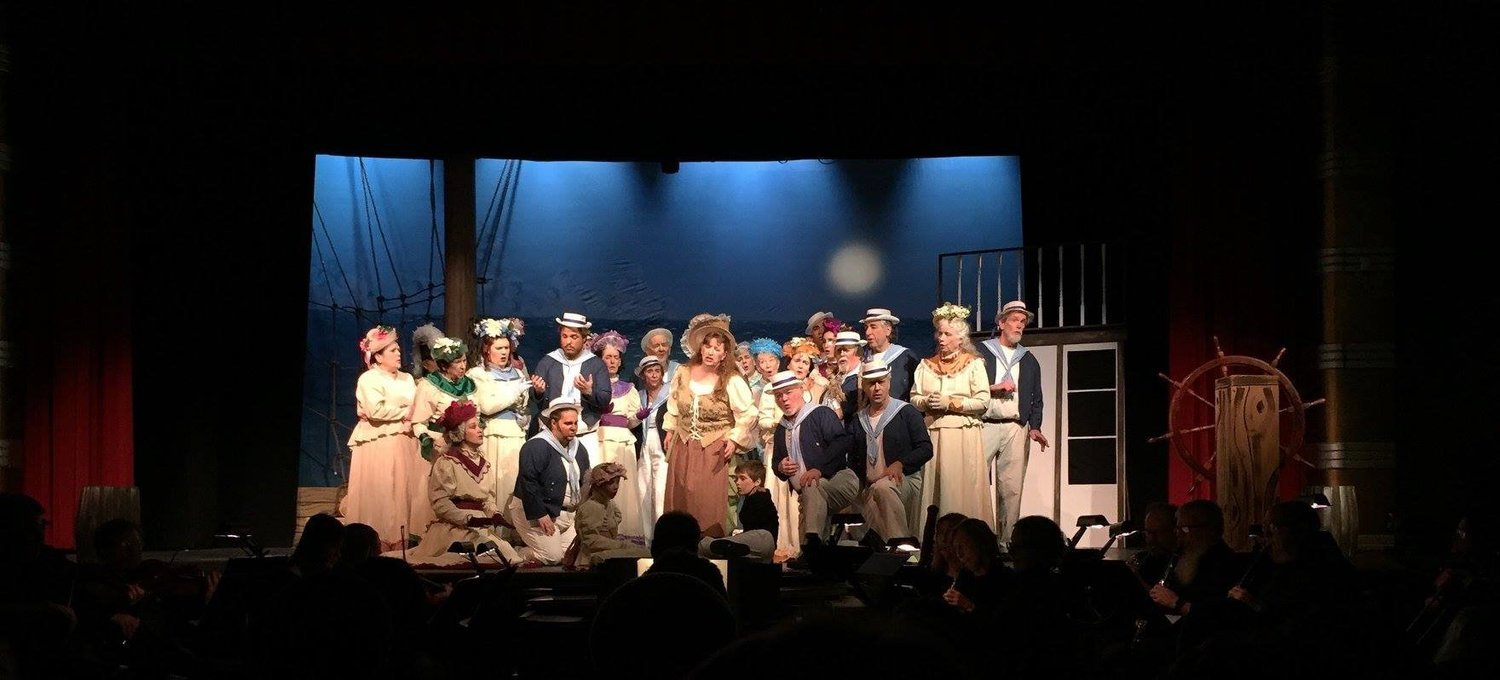 GILBERT AND SULLIVAN SOCIETY OF MAINE CELEBRATES THE 80th BIRTHDAY OF THE GRAND, IN ELLSWORTH