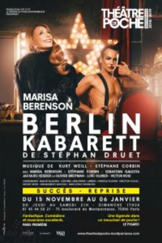 BERLIN KABARETT Comes To Théâtre De Poche-Montparnasse This Fall