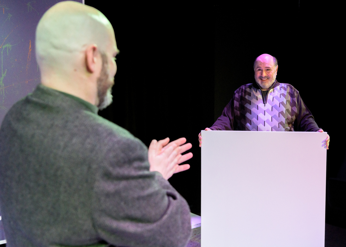 BWW Review: ART Examines the Value of Friendship and Esthetics at Blank Canvas