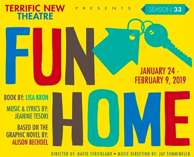 Terrific New Theatre Brings FUN HOME to Birmingham 1/24 to 2/9