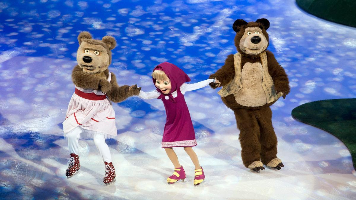 MASHA AND THE BEAR ON ICE Comes To Indonesia Convention Exhibition Today