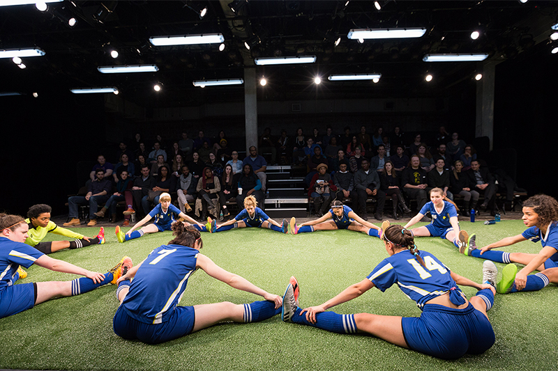 BWW Review: THE WOLVES at Studio Theatre