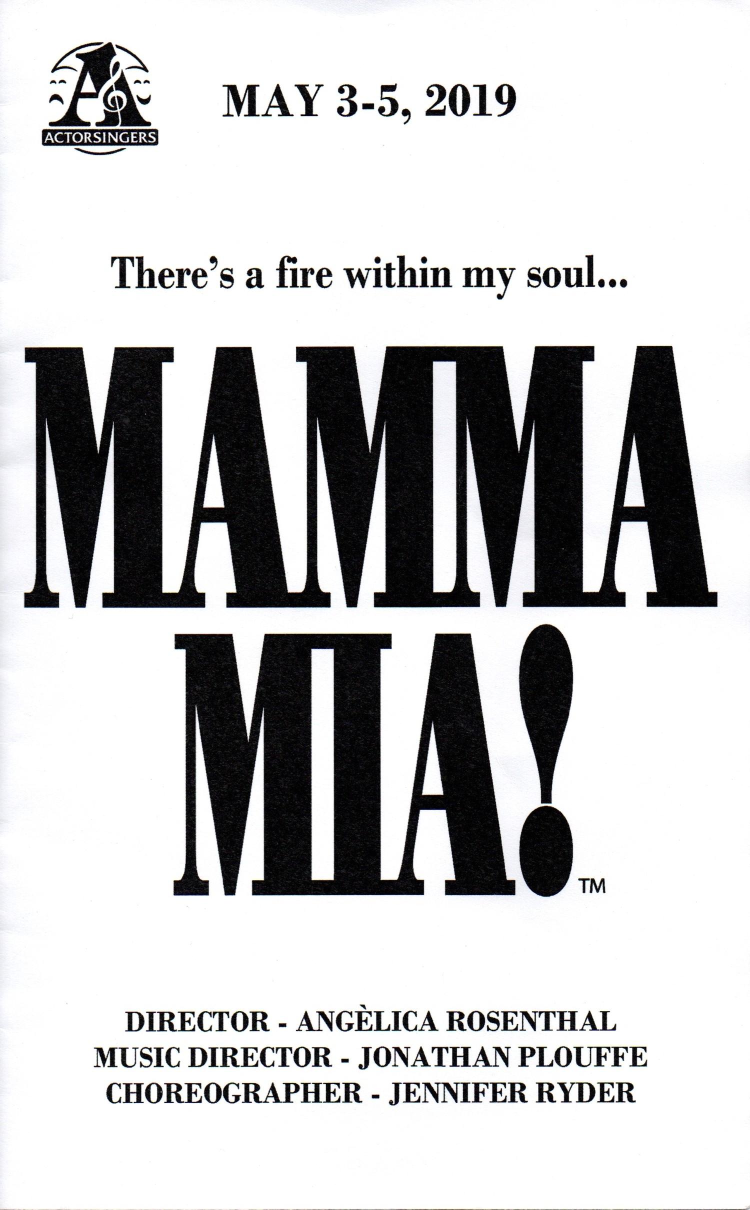 BWW Review: Celebrating Big with MAMMA MIA at Actorsingers