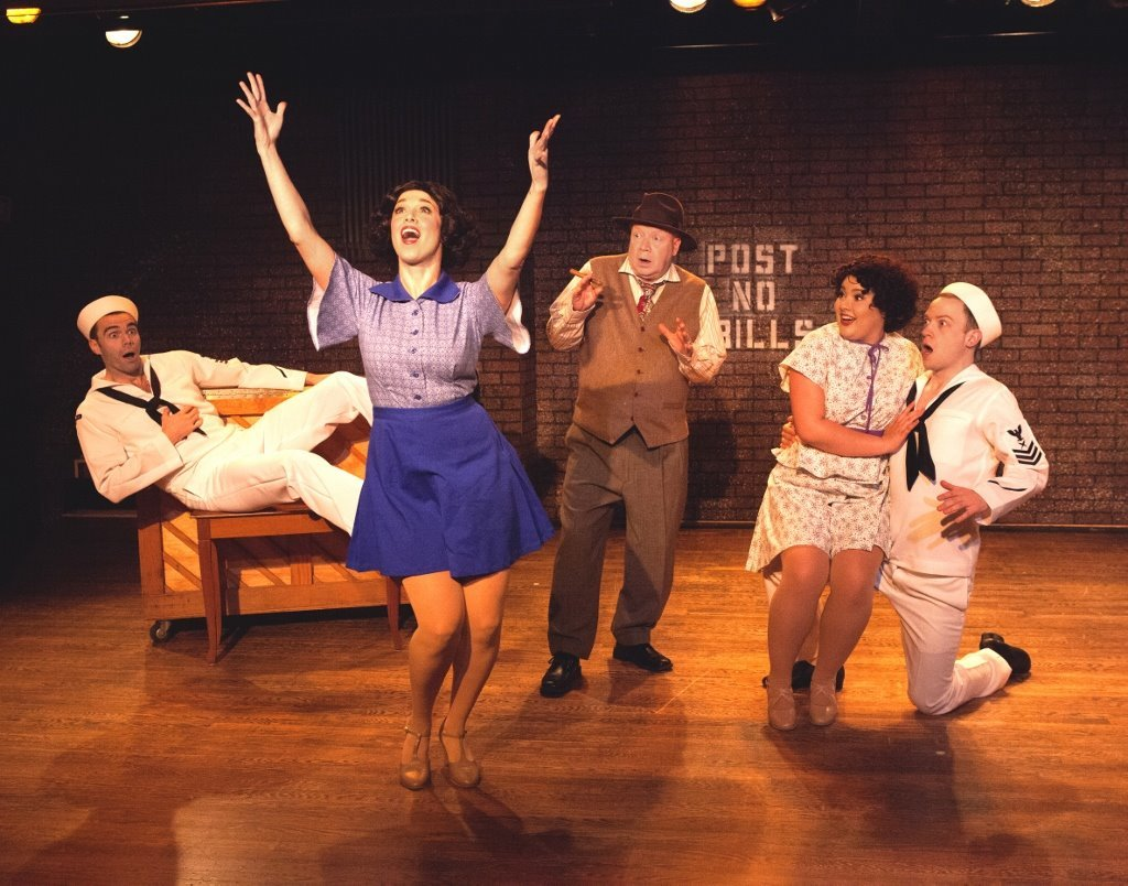 BWW Review: DAMES AT SEA at SWIFT CREEK MILL THEATRE: As Cutely-Camp As Can Be!