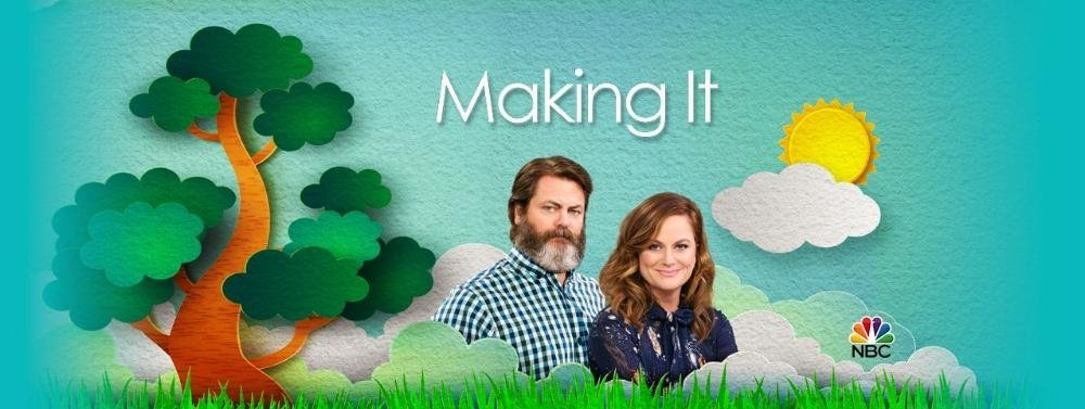 relax and untwine nbc 39 s new competition series from amy poehler making it crafts its debut with. Black Bedroom Furniture Sets. Home Design Ideas