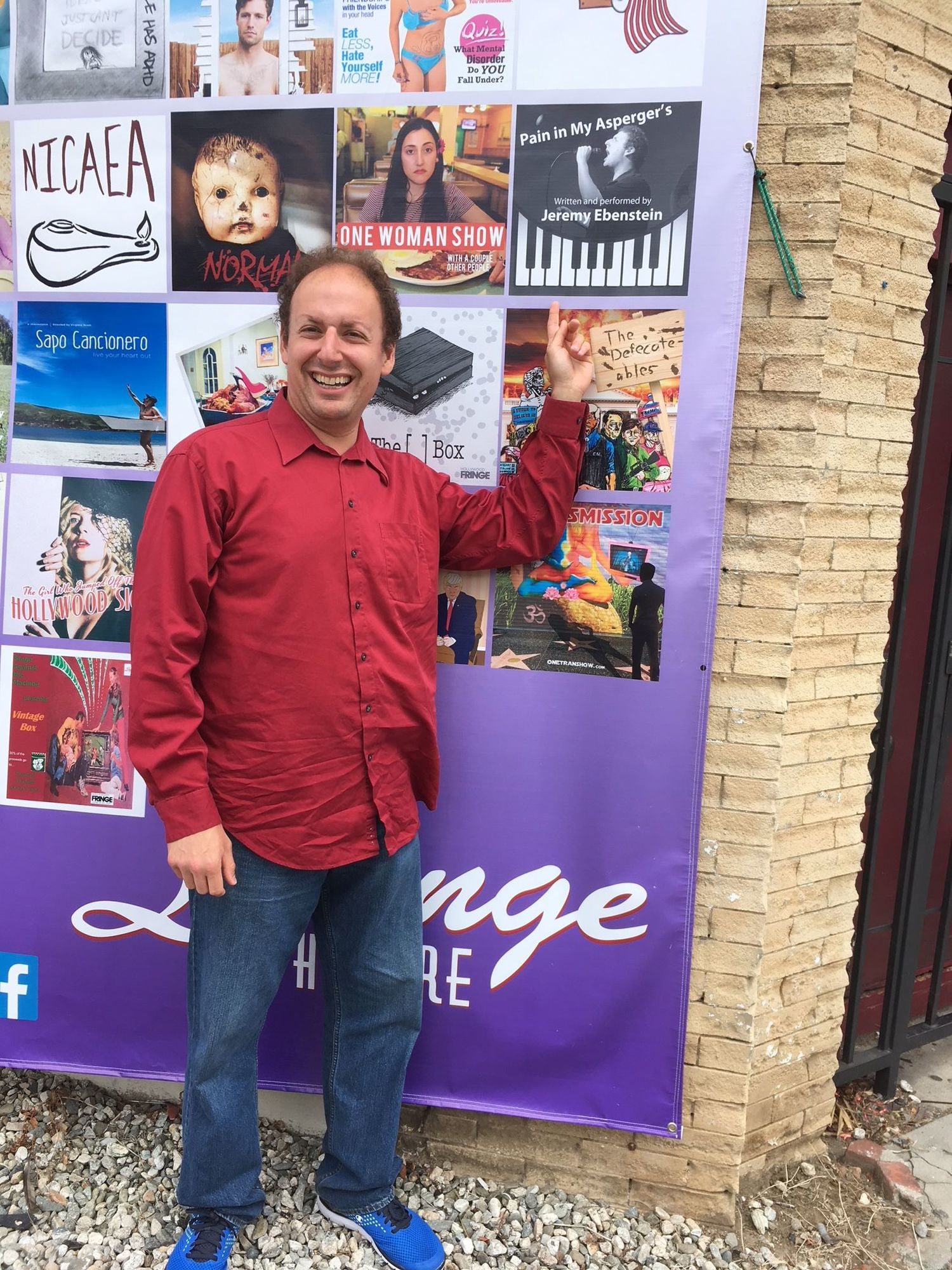 PAIN IN MY ASPERGER'S Returns To The Hollywood Fringe Festival