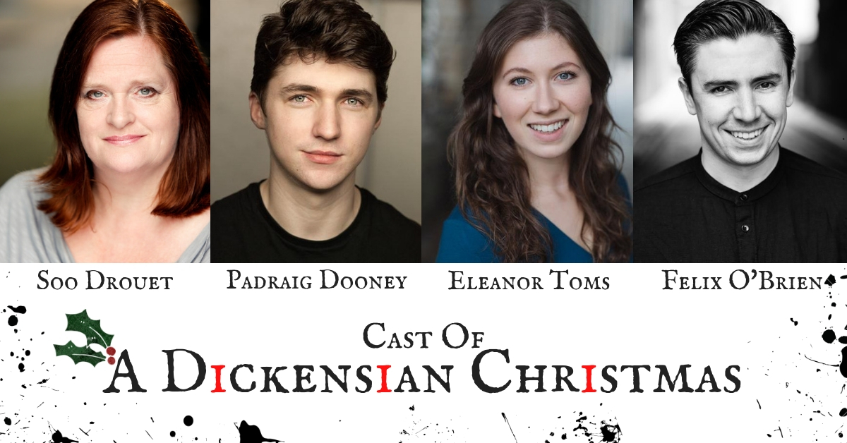 Casting Announced For A DICKENSIAN CHRISTMAS At The Old Library