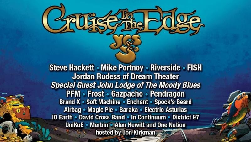 Prog Rock S Biggest Festival At Sea Cruise To The Edge